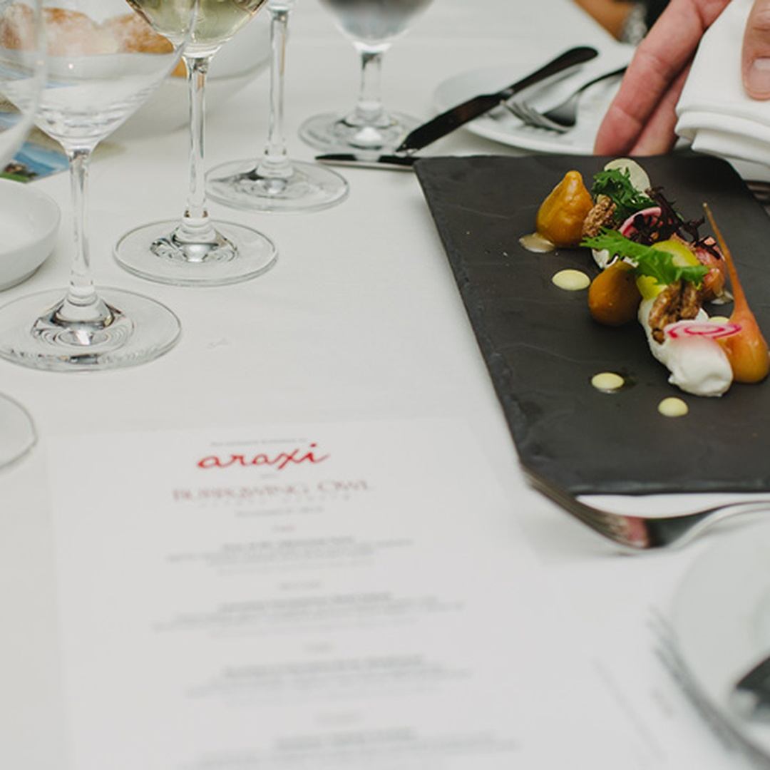 The Cellar by Araxi Intimate Wine Dinner Series Burrowing Owl Estate Winery, BC