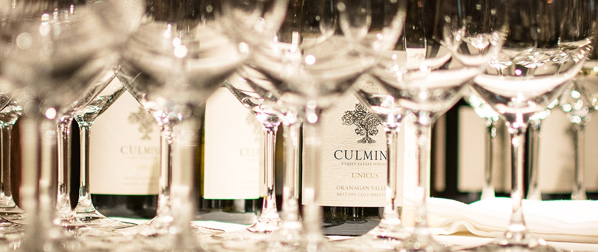 The Cellar by Araxi Intimate Wine Dinner Series CulminaFamily Estate Winery, BC