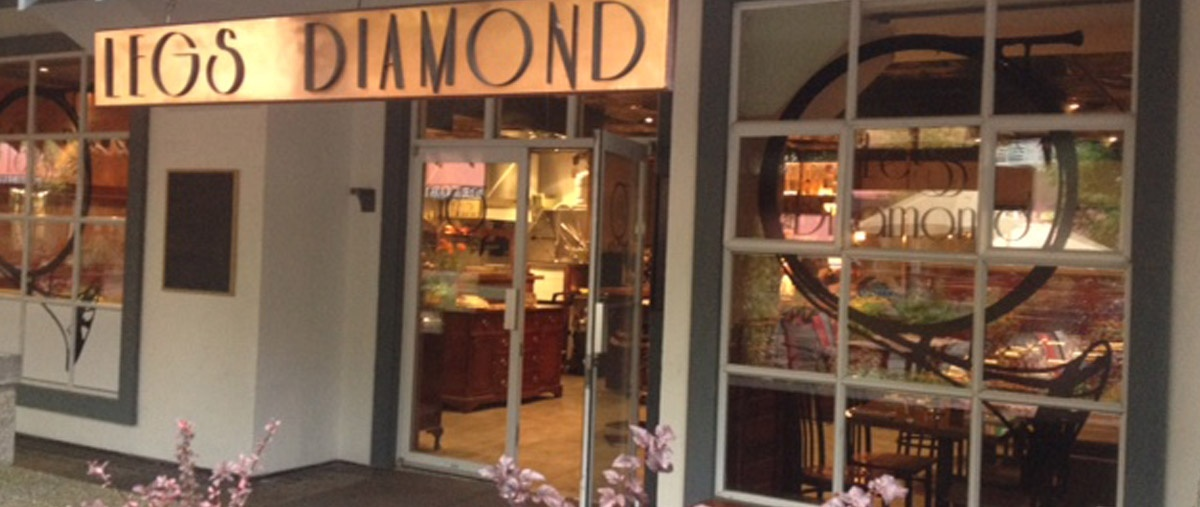 Legs Diamond: Intimate evening at Legs Diamond Supper club Nov 14