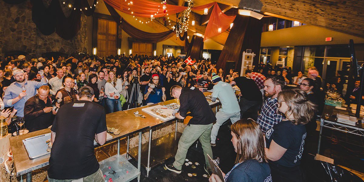 Bearfoot Bistro World Oyster Invitational & Bloody Caesar Battle at Cornucopia Whistler