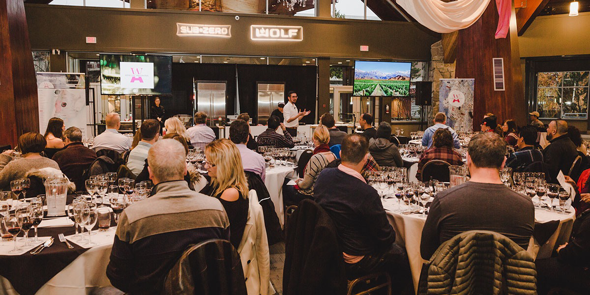 Culinary Stage at Whistler Cornucopia: Wines of Argentina