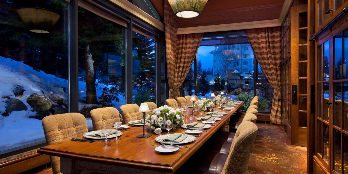 Fairmont Chateau Whistler - Quails' Gate Wine Dinner at Cornucopia Whistler