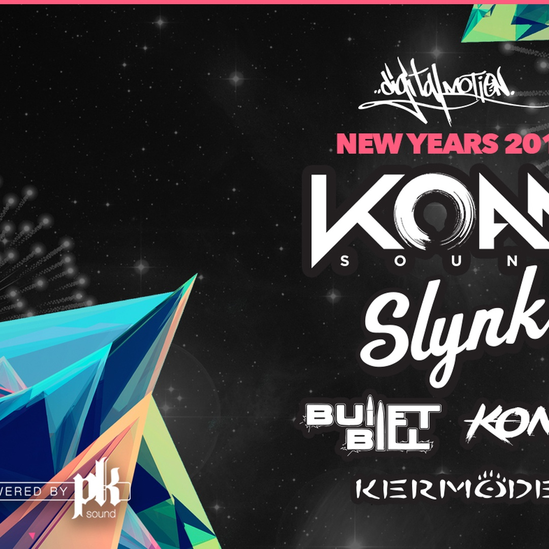 Digital Motion NYE 2018 ft. Koan Sound & Slynk at The Red Room