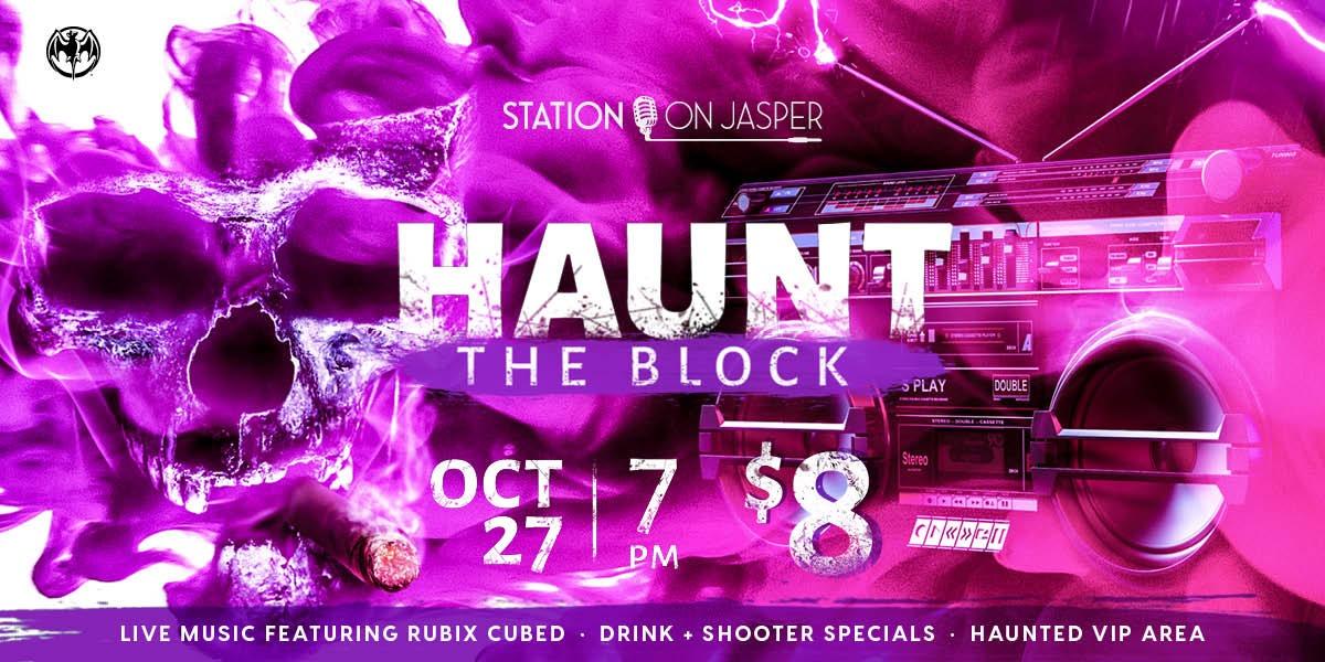 Haunt the Block, A Retro Horror Party