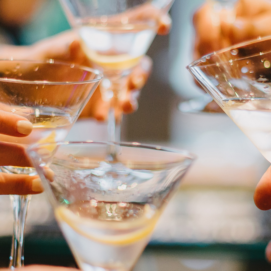 Drink Seminar: Delicious by Design: The Martini Glass and What It Inspired