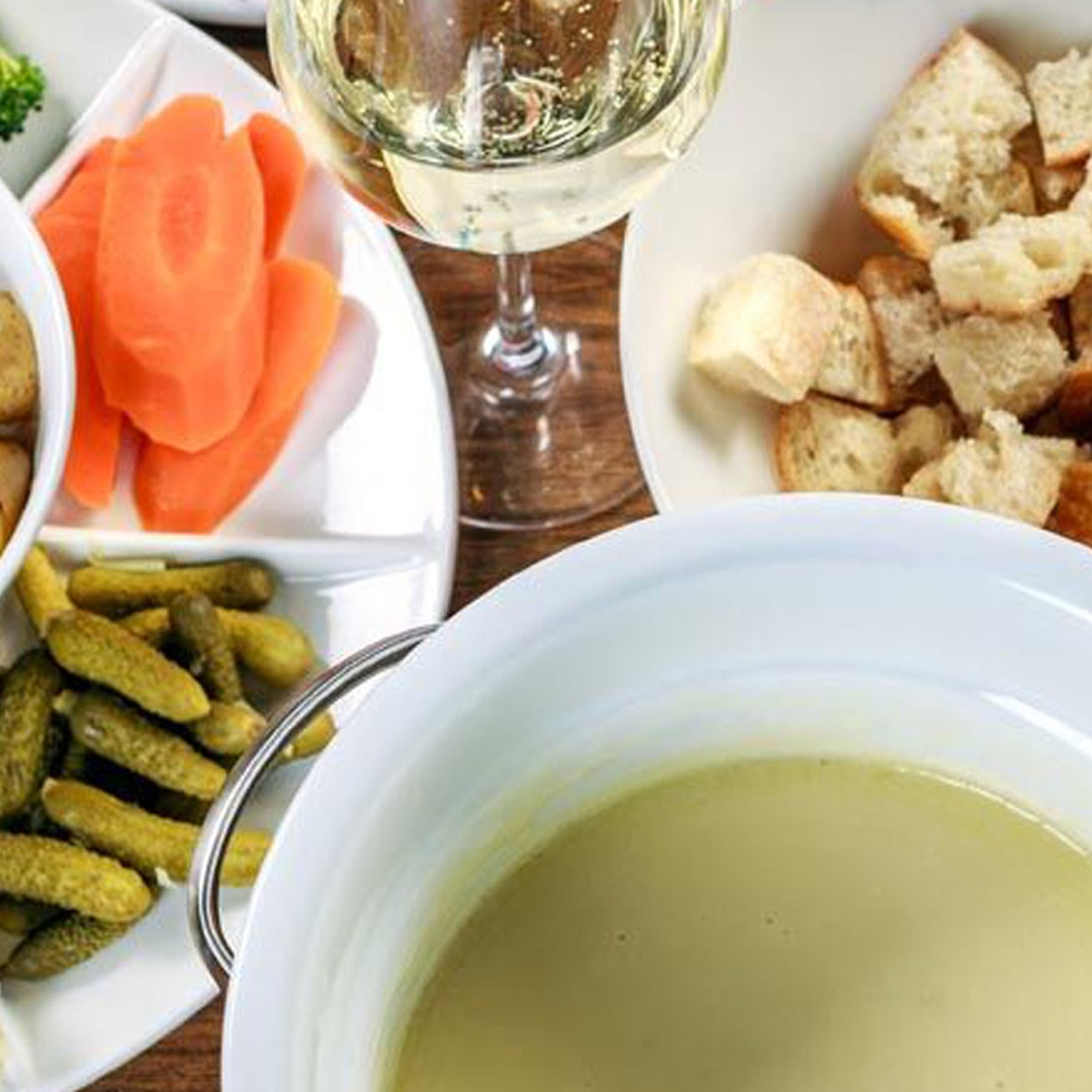 Fondue Wine Dinner with Santa Emma