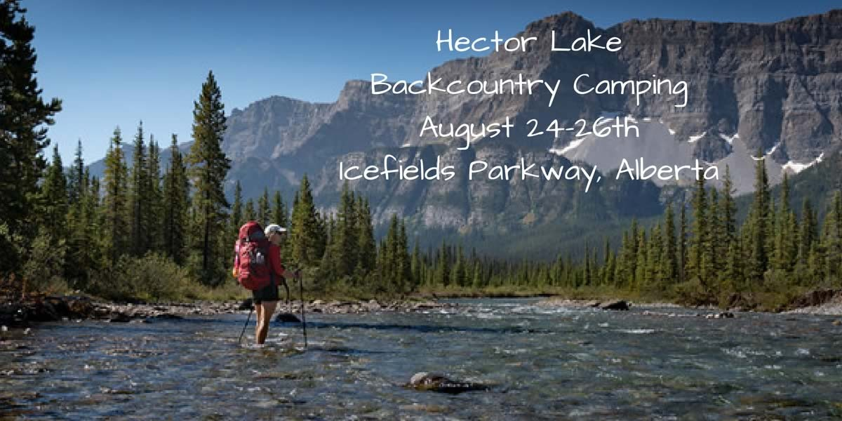 Hector Lake Backcountry Camping