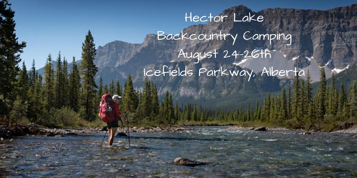 Hector Lake Backcountry Camping
