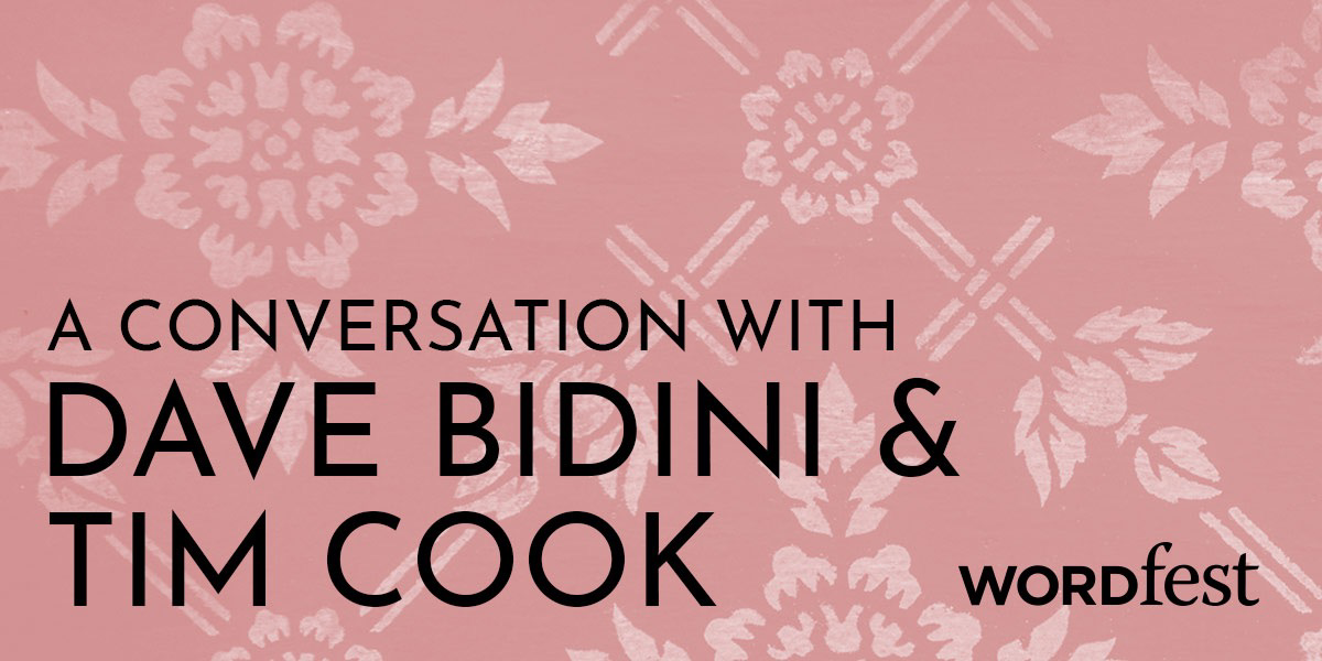 A Conversation with Dave Bidini and Tim Cook