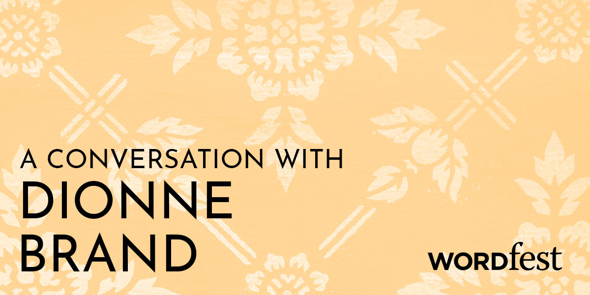 A Conversation with Dionne Brand
